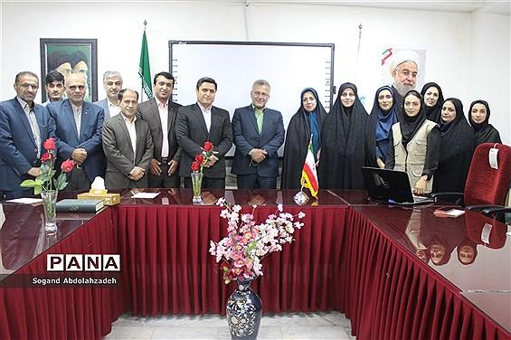 حضور مدیرکل آموزش و پرورش مازندران در سازمان دانشآموزی استان