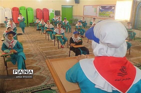 مراسم بزرگداشت سالروز تاسیس سازمان دانش آموزی در دبستان شهید دهقانی شبانکاره-2