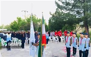 جشن بزرگ بیستمین سالروز تاسیس سازمان دانش آموزی در درگز برگزار شد