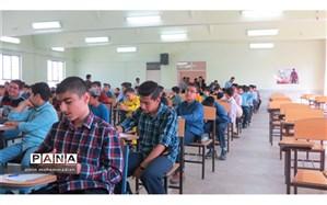 برگزاری مسابقات کتابخوانی مدارس ناحیه 3  مشهد در دبیرستان شهید مهدی حکمت