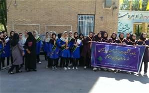 بازدید دانشآموزان تشکیلاتی مدارس ناحیه یک ری از سازمان بیمه تامین اجتماعی