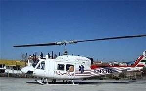 رییس سازمان اورژانس استان بوشهر: برای نجات جان بیماران بالگرد اورژانس هوایی دو بار در یک روز به پرواز درآمد