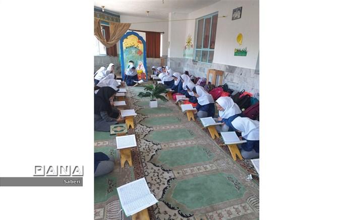 حضور مدرسان قرانی درشیروان