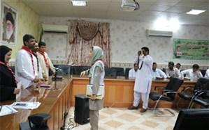 تقدیر از مربیان و اعضاء پیشتاز شهرستان ایرانشهر