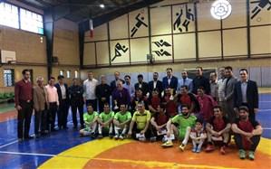 برگزاری مسابقات فوتسال فرهنگیان در شهرقدس