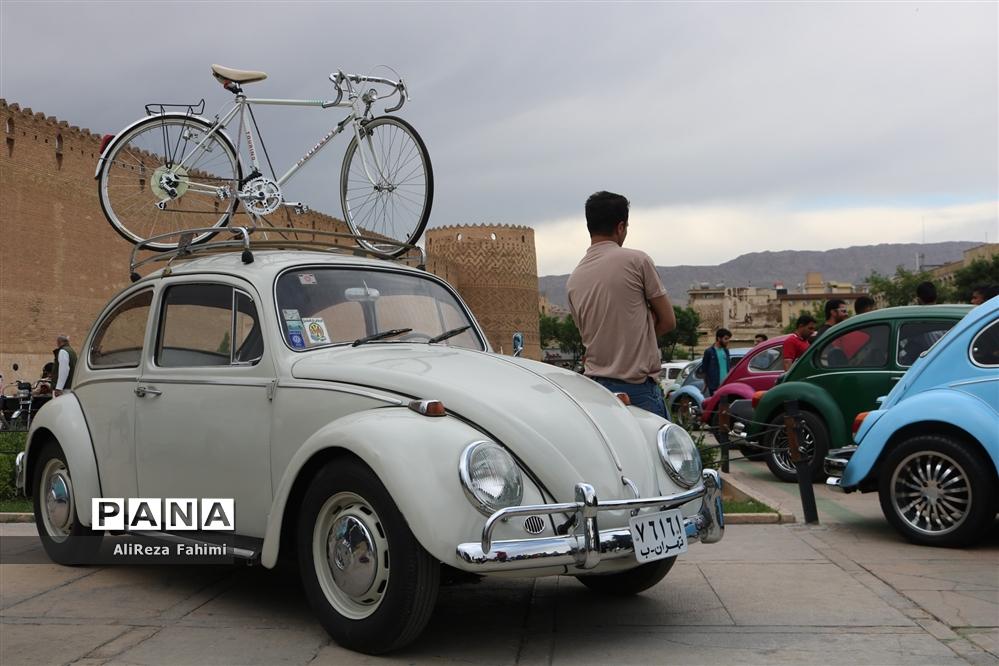 خودنمایی  فولکس واگن ها در شیراز