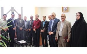 حضور مدیرکل آموزش و پرورش  استان همدان در اداره اطلاعرسانی و روابط عمومی