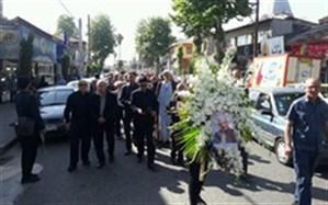تشییع و خاکسپاری مرحوم عبدالرحمان عمادی