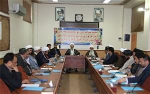 برگزاری جلسه هم اندیشی همکاری های مشترک حوزه علمیه و ادارات آموزش و پرورش شهرستان های غرب استان تهران