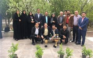 درخشش دبیران تربیت بدنی شهرقدس در رقابت های علمی و تخصصی استان تهران