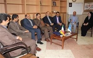 حضور سرپرست و معاونین آموزش و پرورش سیستان و بلوچستان در دفتر اداره اطلاع رسانی و روابط عمومی این استان