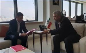 استاندار البرز با وزیر نیرو دیدار کرد