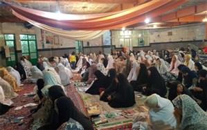 برگزاری مراسم اعتکاف دانش آموزی درشهرستان ملارد