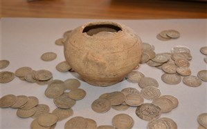 کشف 727 سکه تاریخی  دوره اشکانیان  در لامرد