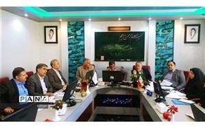 جلسه ساماندهی نیروی انسانی منطقه 11 با حضور رییس اداره کل آموزش و پرورش تهران برگزار شد