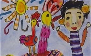 کسب دیپلم افتخار مسابقه نقاشی بینالمللی توسط کودک پارس آبادی