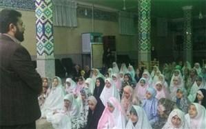 برگزاری مراسم اعتکاف دانشآموزی رمضانیه درفشافویه