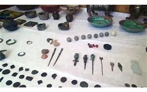 کشف عتیقههای هزاره اول و دوم قبل از میلاد