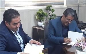 عقد تفاهم نامه ساخت دومین آموزشگاه خیر ساز مرحوم شریعت نیا در چهاردانگه