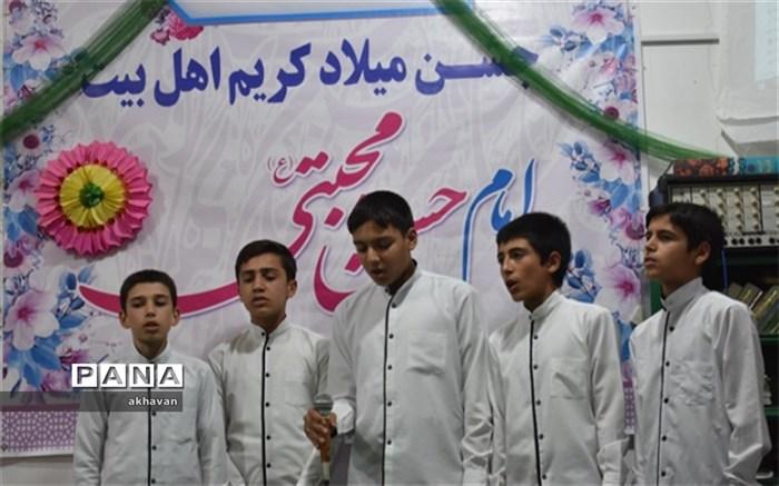 جشن میلاد امام حسن بهاباد