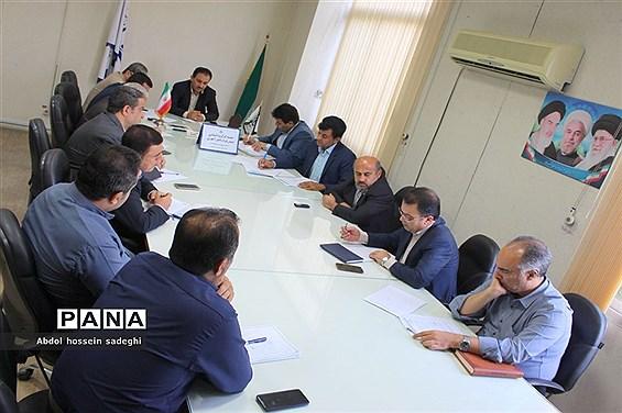 جلسه کار گروه استانی لباس فرم دانش آموزی استان بوشهر