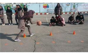 برگزاری آزمون هماهنگ درس تربیت بدنی پایه نهم آموزشگاه های ناحیه 2 اردبیل