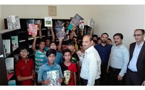 راهاندازی کتابخانه دبستان توحید شهر ابوحمیظه