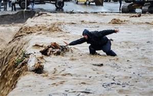جان باختن دو کودک  در اثر جاری شدن سیلاب