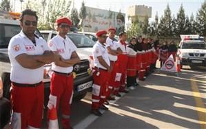 ۵۷ مورد عملیات امداد و نجات هلال احمر البرز