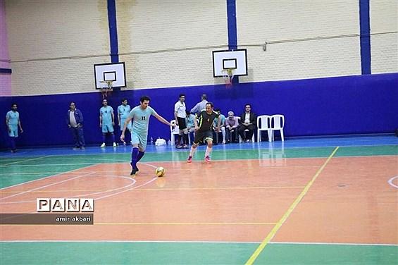مسابقات فوتسال جام رمضان کارکنان ستادی ادارهکل آموزش و پرورش آذربایجان غربی