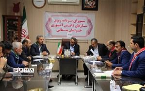 جلسه شورای برنامه ریزی سازمان دانش آموزی برگزارشد