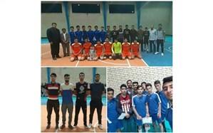 مسابقات فوتسال جام رمضان در روستای حسین آباد شاملو همدان برگزار شد