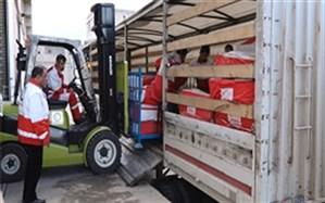 ارسال سومین کاروان کمک های هلال احمر اردبیل به مناطق سیلزده جنوب و جنوب شرقی کشور