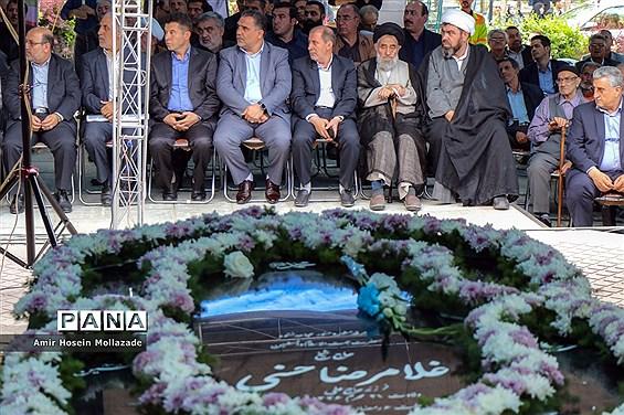 مراسم اولین سالگرد حجت الاسلام حسنی در ارومیه