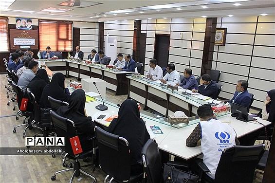 جلسه روسای سازمان دانشآموزی استان بوشهر