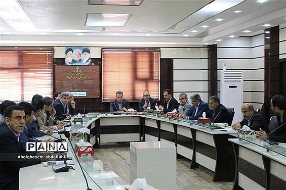 جلسه شورای معاونان ادارهکل آموزش و پرورش استان بوشهر