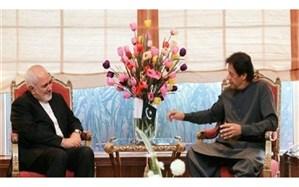 دیدار نخست وزیر پاکستان و ظریف در اسلام آباد