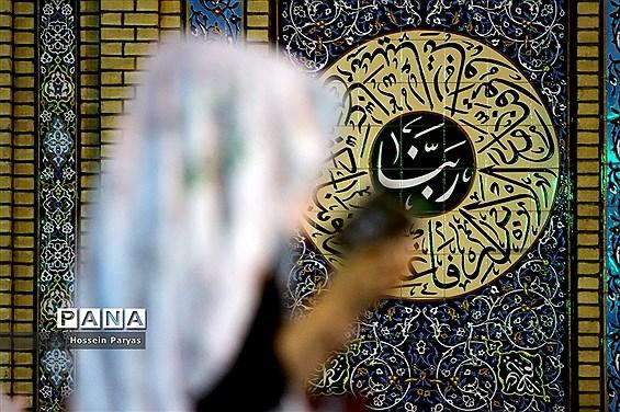 مراسم احیا شب نوزدهم ماه مبارک رمضان در امامزاده صالح