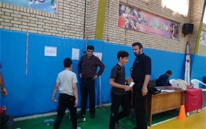 جشنواره استعدادیابی بسکتبال در اراک برگزار شد