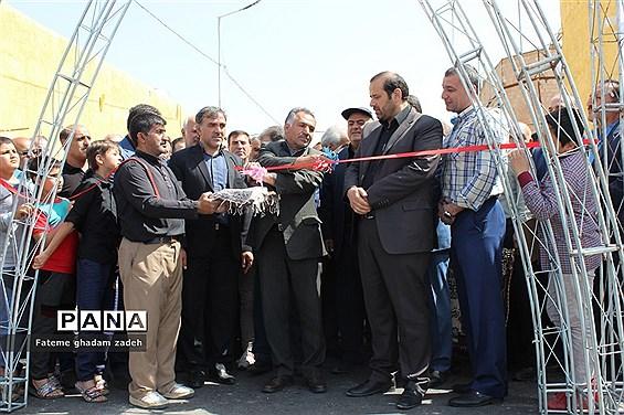افتتاح پروژه اتصال شهرک امام حسین (ع) به مسکن مهر اسلامشهر