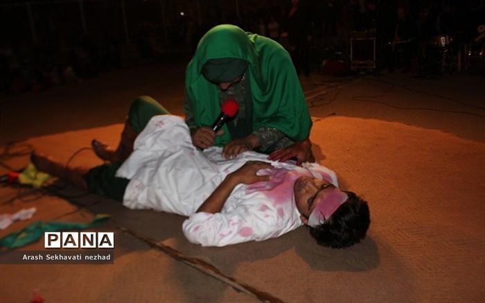 مراسم تعزیه خوانی  درشهرستان بیرجند