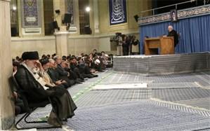 برگزاری مراسم سوگواری شهادت امام علی(ع) در حضور رهبر معظم انقلاب