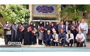 معلمین نمونه میهمان شورای مدیریتی آموزش و پرورش منطقه 1
