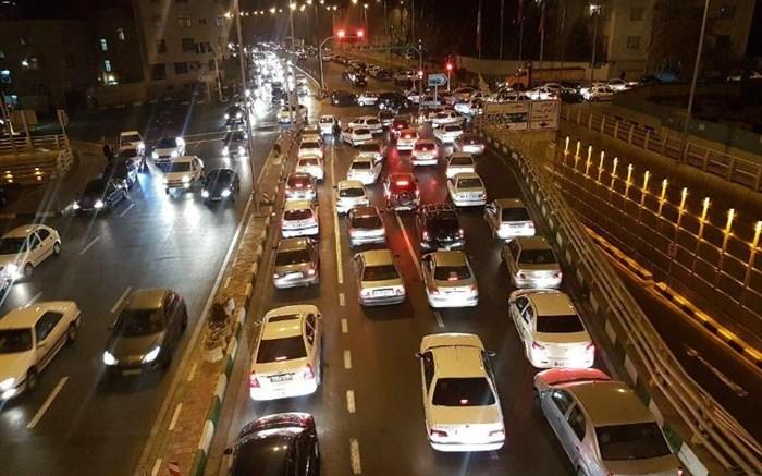 ترافیک - ترافیک در شب