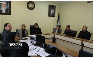 تشکیل سیزدهمین جلسه  ساماندهی نیروی انسانی مناطق شهر تهران در منطقه 7 باحضور مدیر کل شهر تهران