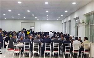 برگزاری مراسم افطاری برای ایتام در مسجدسلیمان