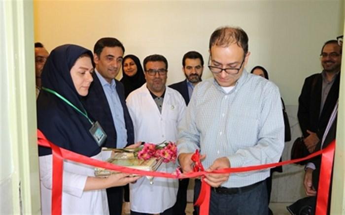 افتتاح بخش الکتروکورتیکوگرافی در بیمارستان چمران