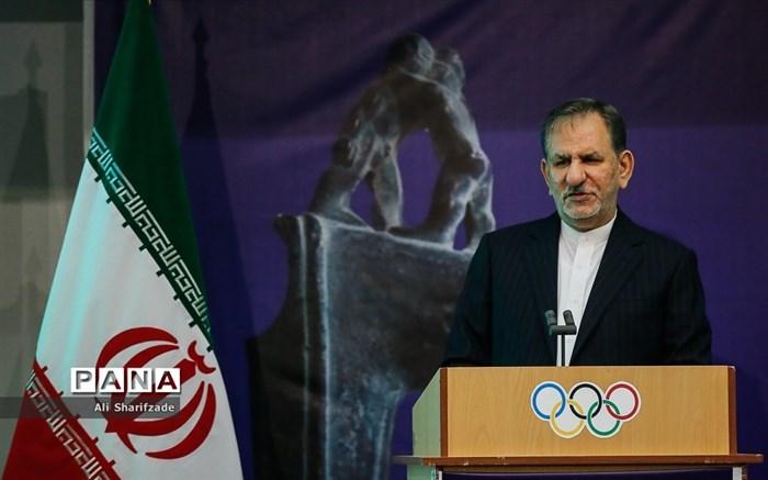 مراسم افتتاح موزه ملی ورزش