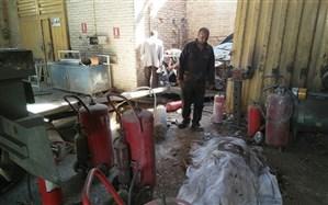 انفجار مرگبار در کارگاه شارژ سیلندرهای گاز + تصاویر