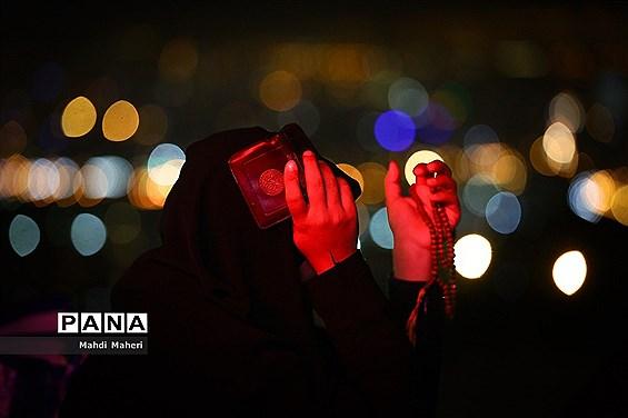 مراسم احیا شب بیست و سوم ماه مبارک رمضان در کهف الشهدا